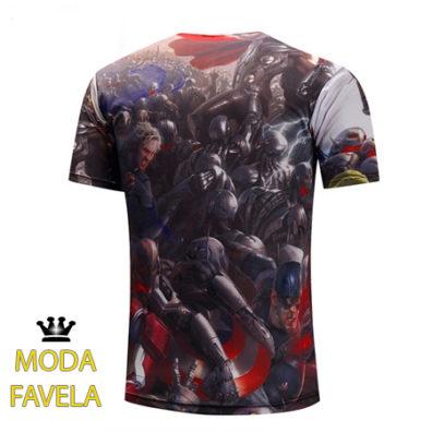 T-shirt Os Vingadores marvel