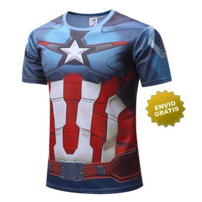 T-shirt Capitão América o 1º vingador
