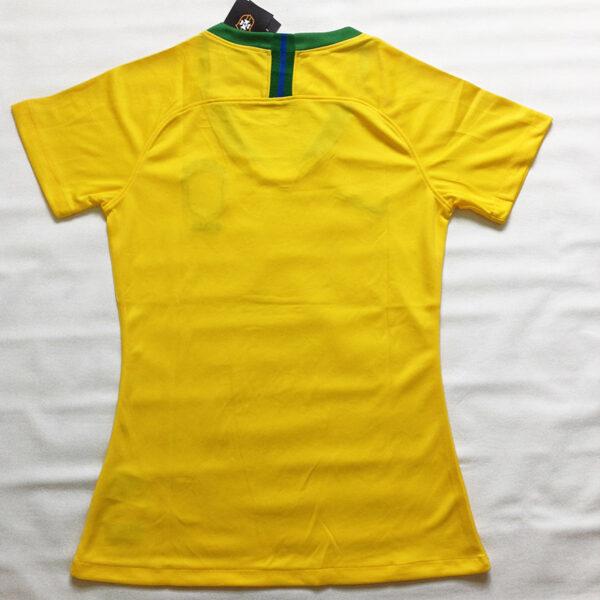 Camisa Seleção Brasileira Feminina foto real costas