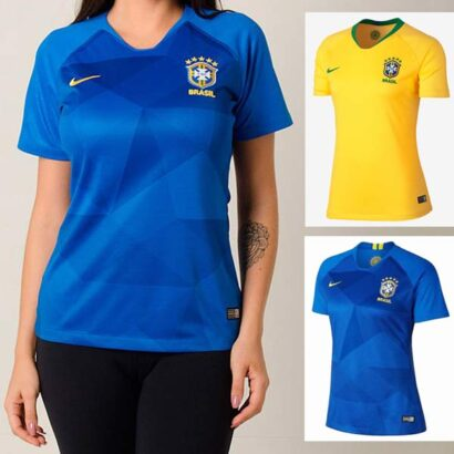 Camisa Seleção Brasileira Feminina 2 cores
