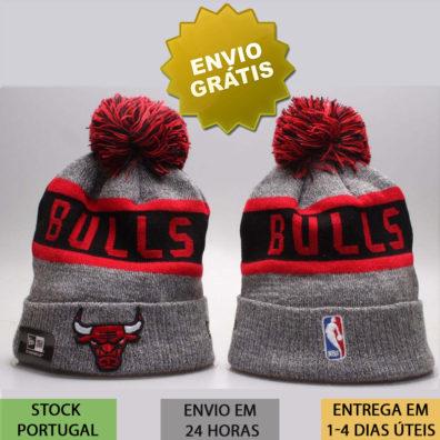 Gorro Chicago Bulls cinza nba