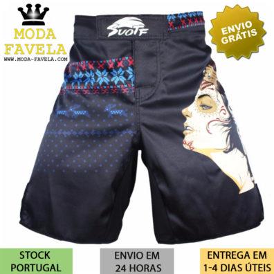 Calção MMA Índia shorts