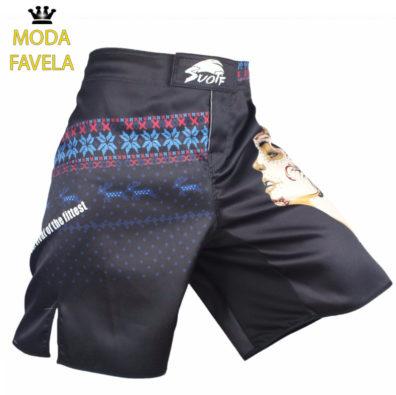 Calção MMA Índia shorts Muay Thai