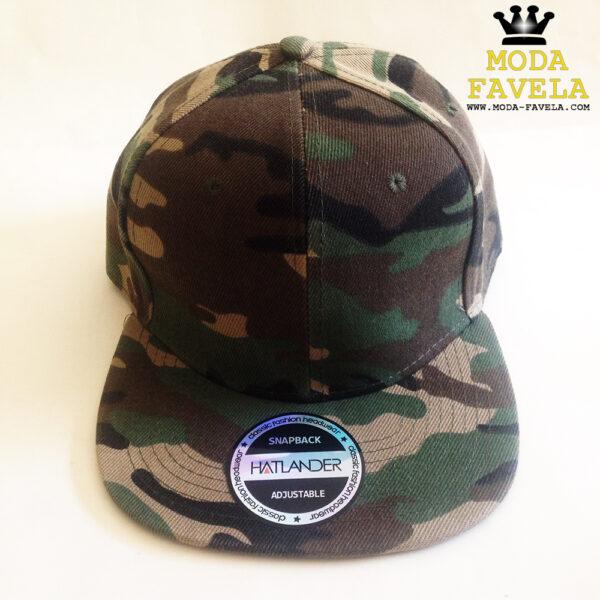 Boné Camuflado snapback cap