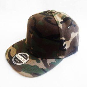 Boné Camuflado snapback chapéu