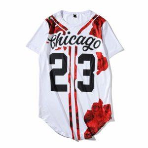 T-shirt Chicago 23 Unisex frente