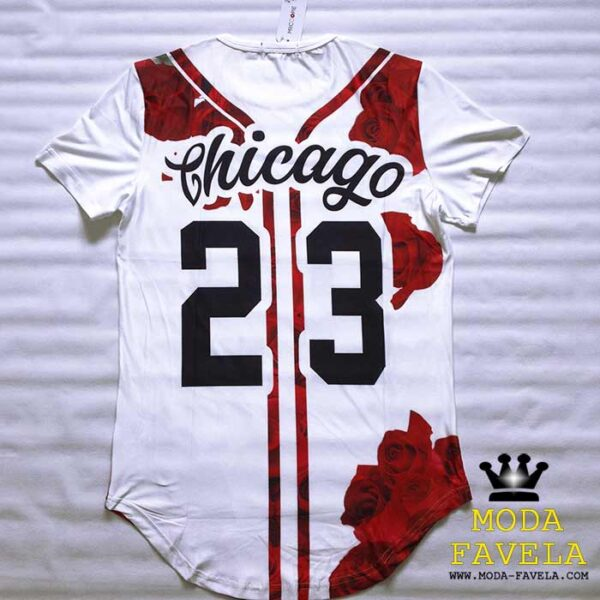 T-shirt Chicago 23 frente foto real