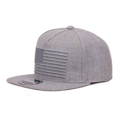 Chapéu USA boné cinzento boné cap