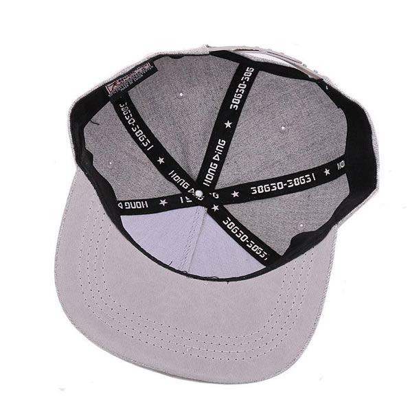 Chapéu USA boné cinzento boné