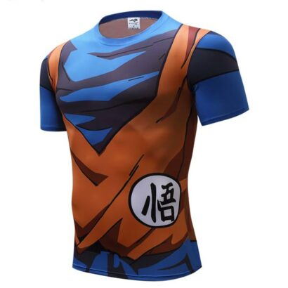 T-shirt Camiseta Son Goku dragon ball