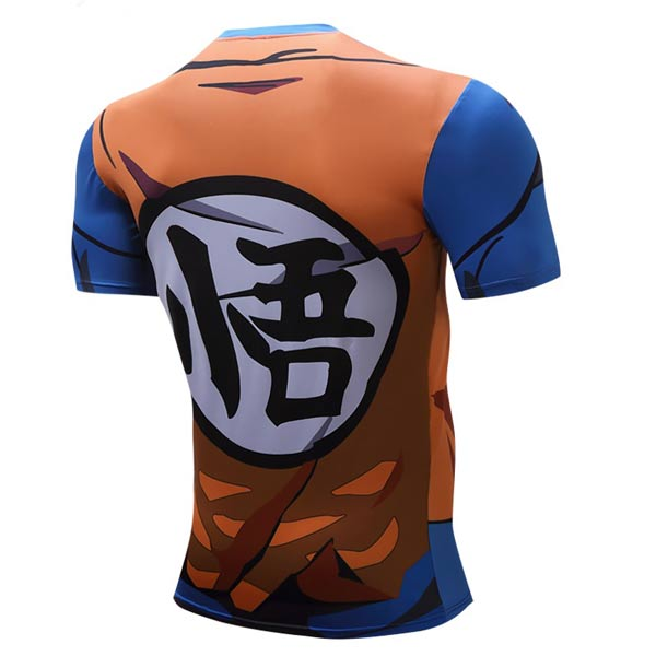 T-shirt Son Goku anime Super