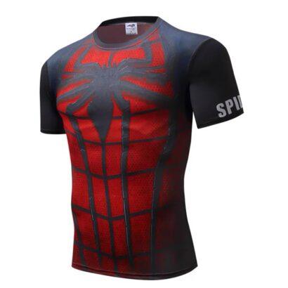 Camiseta Homem-Aranha manga curta