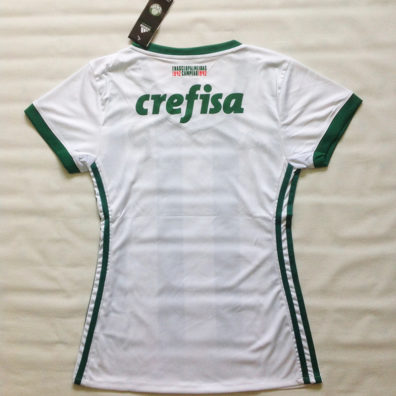 Camisa Palmeiras Feminina verde e branca