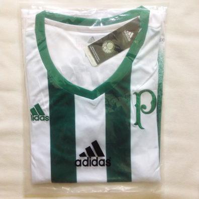 Camisa Palmeiras Feminina embalagem