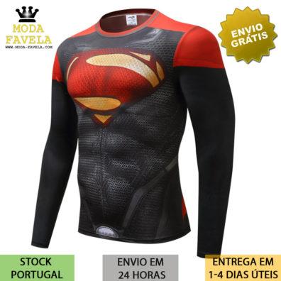 T-shirt Rash Guard Superman