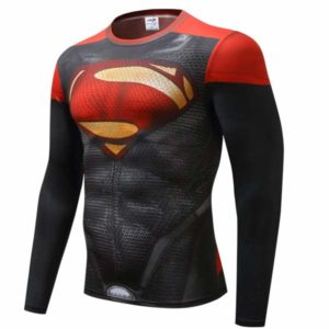 T-shirt Rash Guard Superman