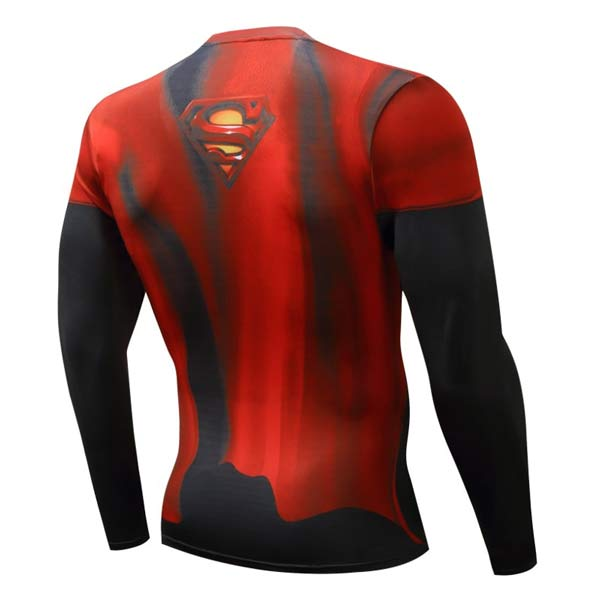 T-shirt Superman manga comprida comprar