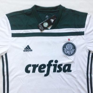 Camisa Palmeiras 2018 2019 Manga curta branca