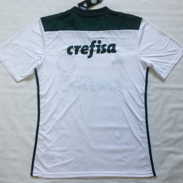Camisa Palmeiras 2018 2019 branca manga curta