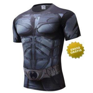 T-shirt Batman Manga curta preta