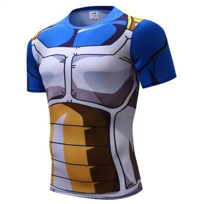 T-shirt Camiseta Vegeta Super Sayajin frente