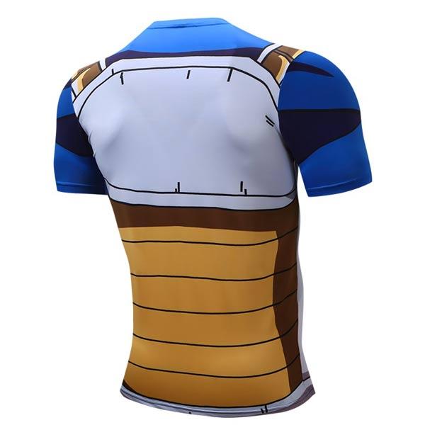 T-shirt Vegeta manga curta azul preço
