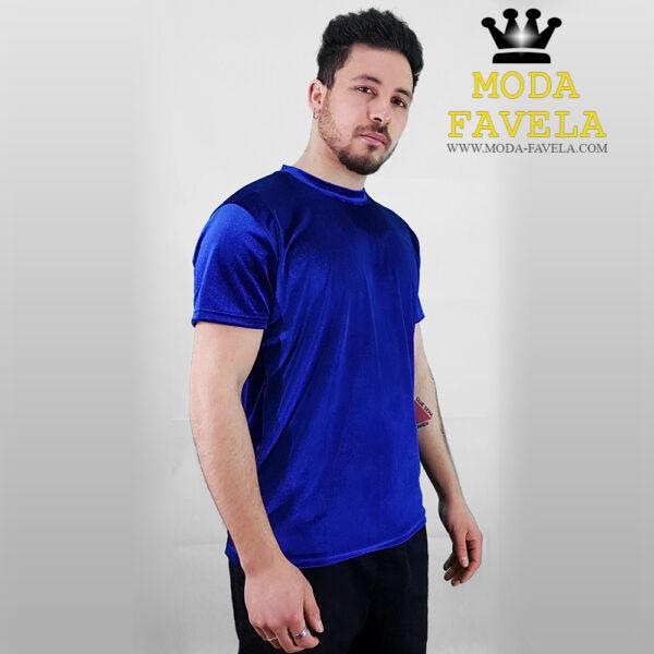 T-shirt Veludo Manga Curta Veludo