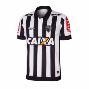 Camisa Atlético Mineiro 2018 preta e branca