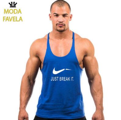 T-shirt Just Break It Caviada azul 2