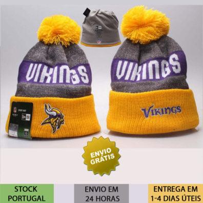 Gorro Minnesota Vikings NFL amarelo
