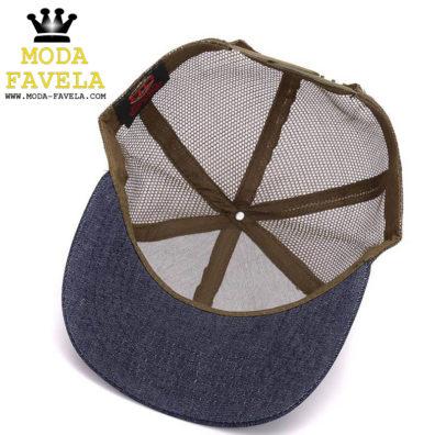 Boné camuflado de rede chapéu boné