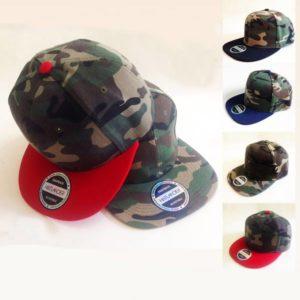 Chapéus/Bonés Camuflados em 4 cores