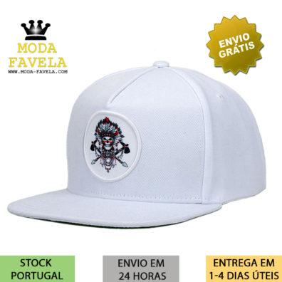 Chapéu Caveira Branco