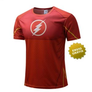 T-shirt Flash frente