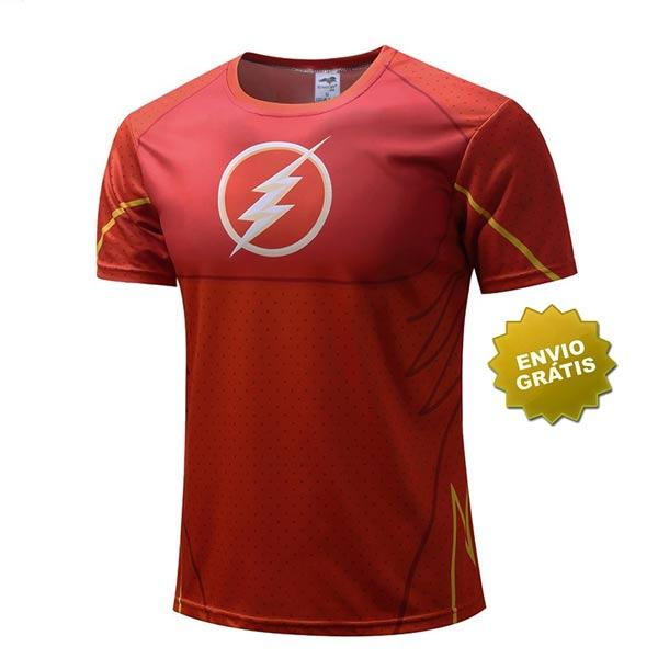 T-shirt Flash frente
