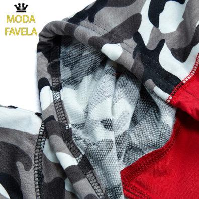 T-shirt Caviada com Capuz foto real