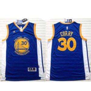 Camisola Stephen Curry Azul 30 frente e costas