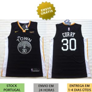 Camisola Golden State Warriors Curry 30 2018/2019