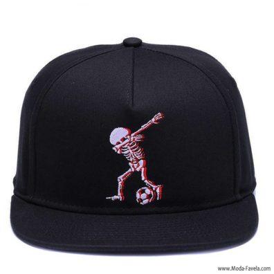 Boné Skull Dab Dance Chapéu