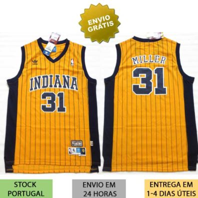 Camisola Indiana Pacers Miller 31 jersey