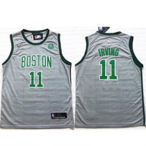 Camisola NBA Kyrie Irving Boston Celtics frente e costas