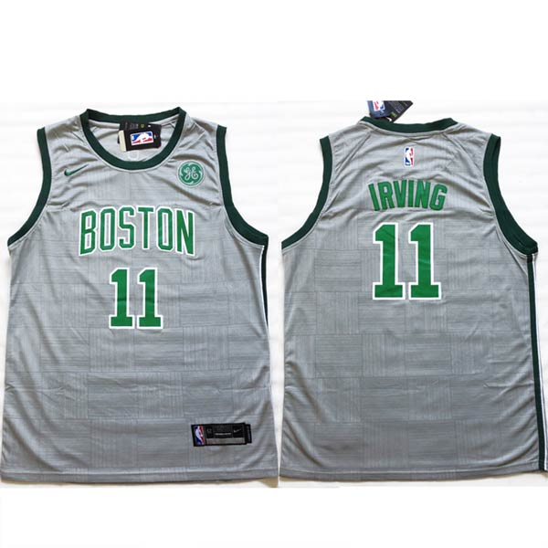 Camisola NBA Kyrie Irving Boston Celtics frente e costas
