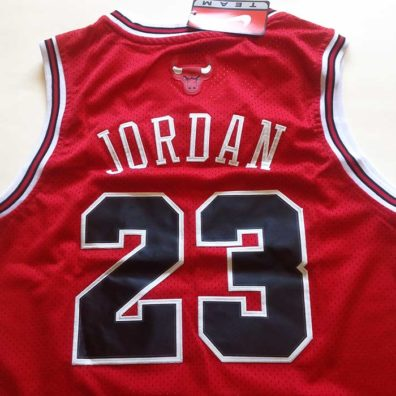 Camisola NBA Chicago Bulls foto real costa