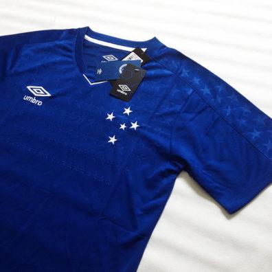 Camisa Cruzeiro 2019/2020 azul nova camisa