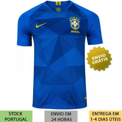 Camisa Brasil Copa do Mundo 2018 Azul jersey