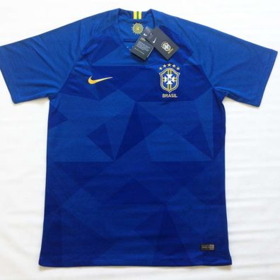 Camisa Brasil Copa do Mundo 2018 foto real frente
