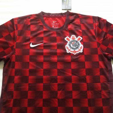 Camisa Corinthians Xadrez Pré-Jogo