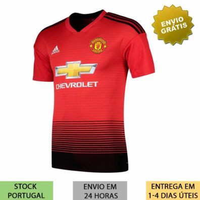 Camisola Manchester United 2018/2019 home