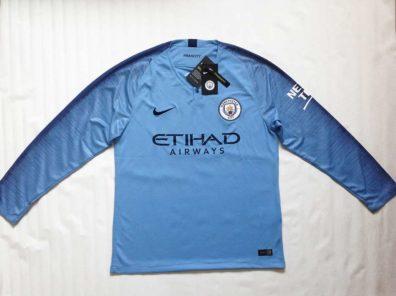 Camisola Manchester City manga comprida azul