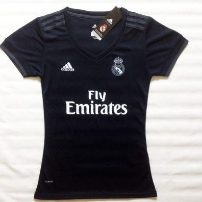 Camisola Real Madrid Feminina preta para mulher